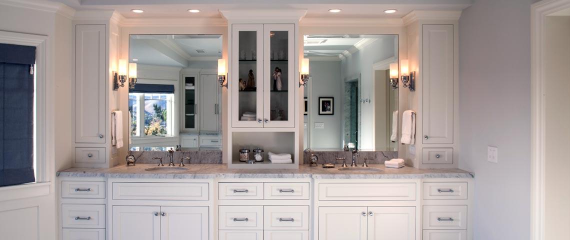 Custom Bathroom Vanities and Cabinetry