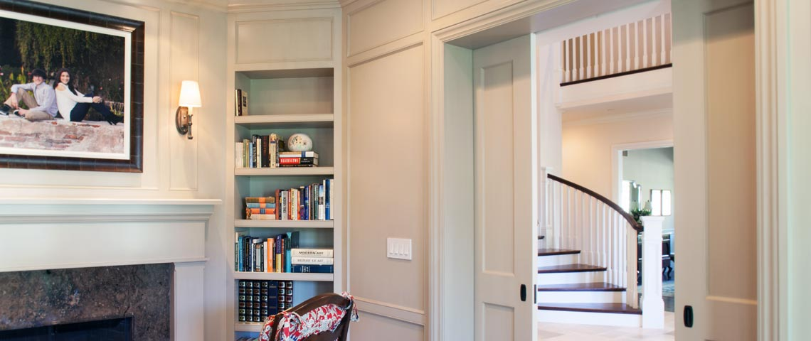 Custom Staircases, Doors, and Moldings